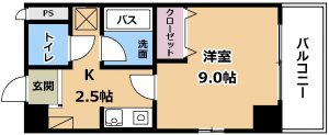 エランビタールⅢ 03号室